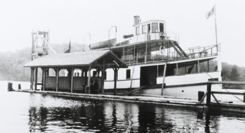 The Rideau KIng at Portland wharf