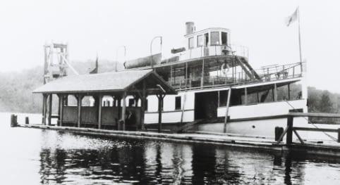 The Rideau KIng at Portland wharf