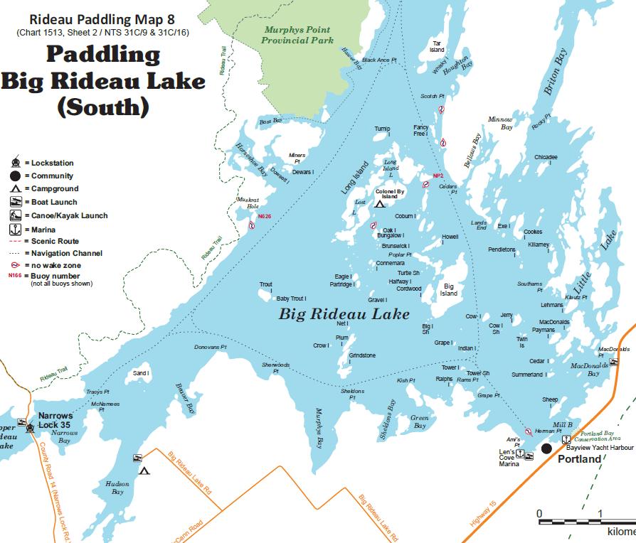 Big Rideau Lake Tours